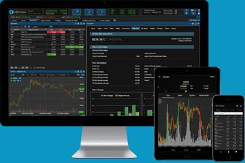 Under what company eoption trading platform